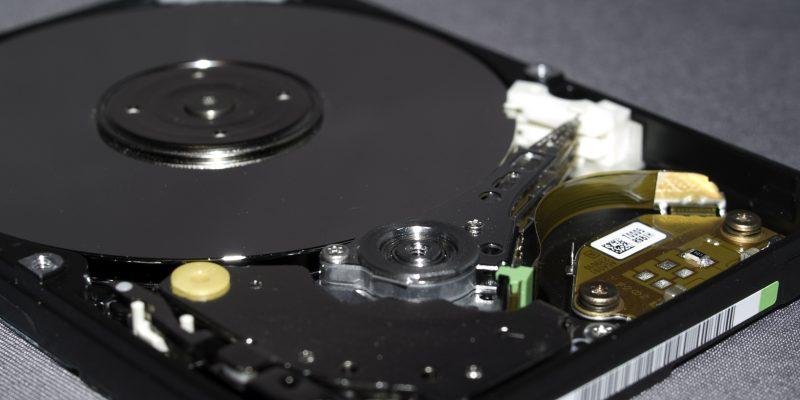 Χαλασμένος σκληρός δίσκος laptop