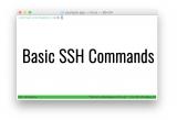 10 βασικές και χρήσιμες εντολές του ssh client