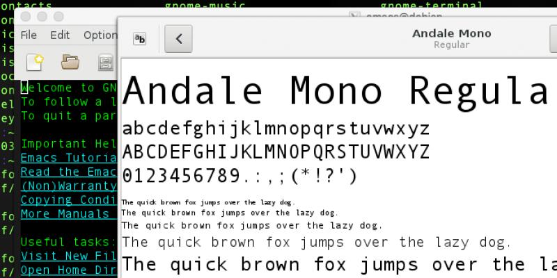 Linux fonts φτιάξε πιο όμορφες γραμματοσειρές