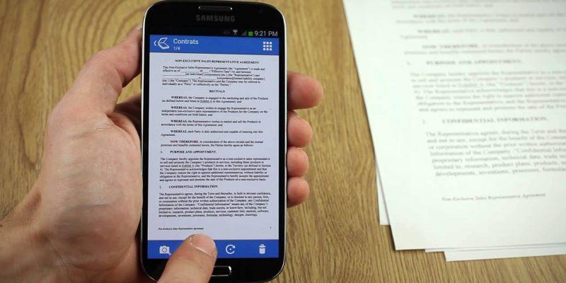 Σάρωση εγγράφων OCR με το tablet και το κινητό